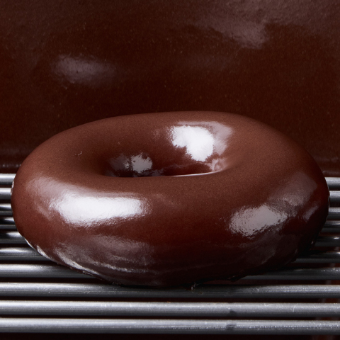Krispy Kreme's Chocolate Glaze Doughnut. (Photo: Business Wire)