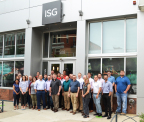 ISG Des Moines Iowa Office in East Village pictured with VGI Design. (Photo: Business Wire)