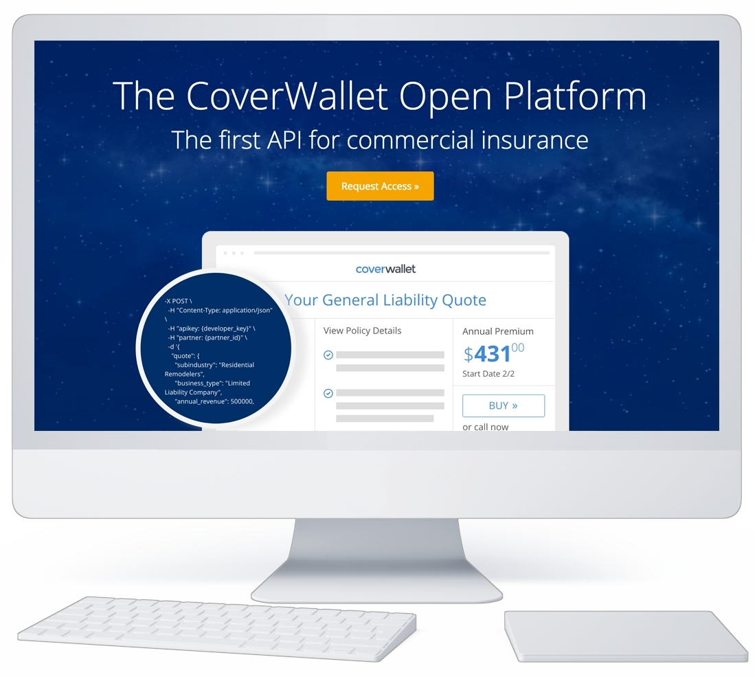 CoverWallet Launches First Commercial Insurance API in the Market ...