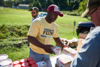 A Food Lion associate at a recent Food Lion Feeds event. (Photo: Business Wire)