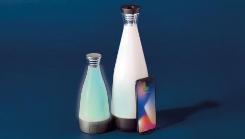 Mini & Regular Gloo Wireless Charging Bottle  (Photo: Deconnect)