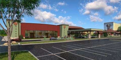 Kalahari Resorts and Conventions broke ground on an expansion to its convention center at the Pocono Mountains resort. Slated to open in 2019, the addition will more than double the meeting facilities on site and will include two new ballrooms and 18 new meeting rooms. (Photo: Business Wire)