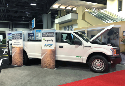 ANG technology facilitates reliable, at-home refueling and leverages the existing gas infrastructure already available in 60 million homes and 5 million businesses throughout the U.S. (Photo: Business Wire)