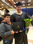 """Big Brother"" Randall Rene's graduation has become a motivator for his ""Little Brother"" Henry. (Photo: Business Wire)"