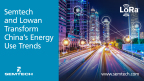 Semtech and Lowan Transform China's Energy Use Trends (Graphic: Business Wire)