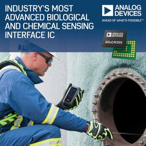 Analog Devices Unveils Industry's Most Advanced Biological and Chemical Sensing Interface IC (Photo: Business Wire)