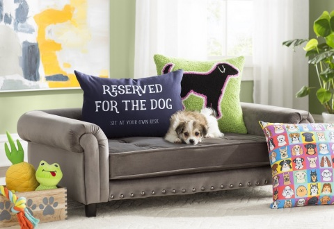 Wayfair unleashes Archie & Oscar, exclusive line of furniture and accessories for pets. (Photo: Business Wire)