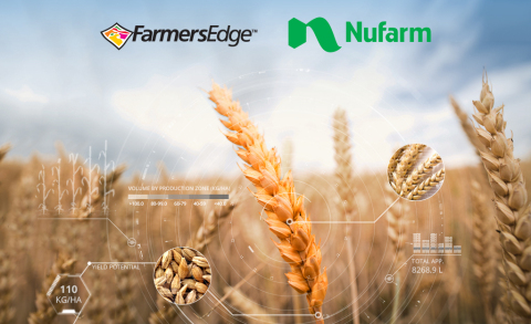 Farmers Edge and Nufarm Limited announce Strategic Alliance. (Photo: Business Wire)