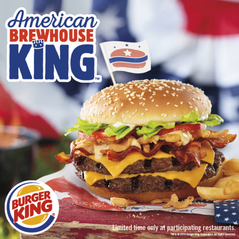 BURGER KING® RESTAURANTS AND BUDWEISER COME TOGETHER (Photo: Business Wire)