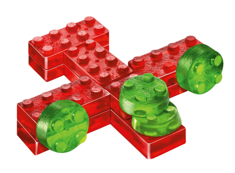 Example of a gelatin toy built from a Build & Eat Kit (Photo: Business Wire)