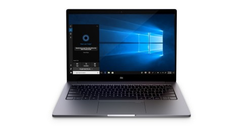 """Mi Air 13.3"""" is shipped with preinstalled Windows 10 Home Edition and supports Windows Hello. (Photo: Business Wire)"""