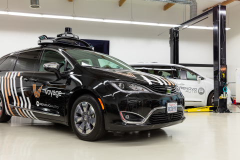 The Velodyne VLS-128 sensor is now part of the Renovo reference configuration for highly automated vehicles powered by the Renovo AWare operating system. (Photo: Business Wire)