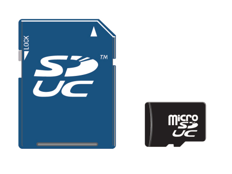 microSDUC and SDUC card examples (Photo: Business Wire)