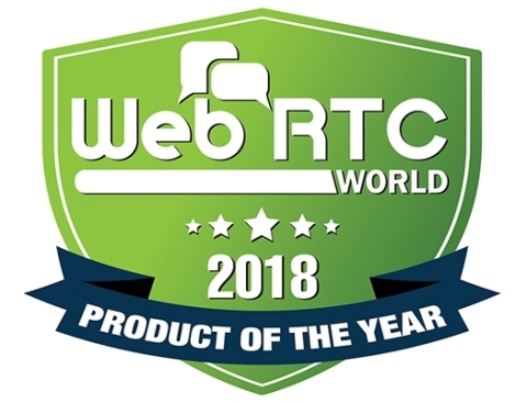 Qumu Wins 2018 WebRTC Product of the Year Award for browser-to-browser video communication solution within the enterprise (Graphic: Business Wire)