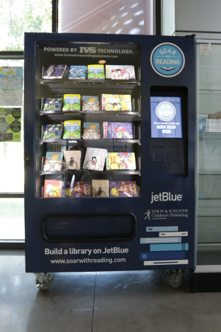 JetBlue launched its eighth annual Soar with Reading initiative, which provides free books to children who need them most. This summer, Soar with Reading lands in San Francisco and Oakland, Calif. (Photo: Business Wire)