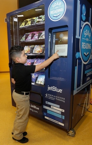 "JetBlue's award-winning Soar with Reading initiative tackles the issue of ""book deserts,"" areas with limited access to age-appropriate books. Since 2011, JetBlue has donated nearly $3 million worth of books to children in areas of need. (Photo: Business Wire)"