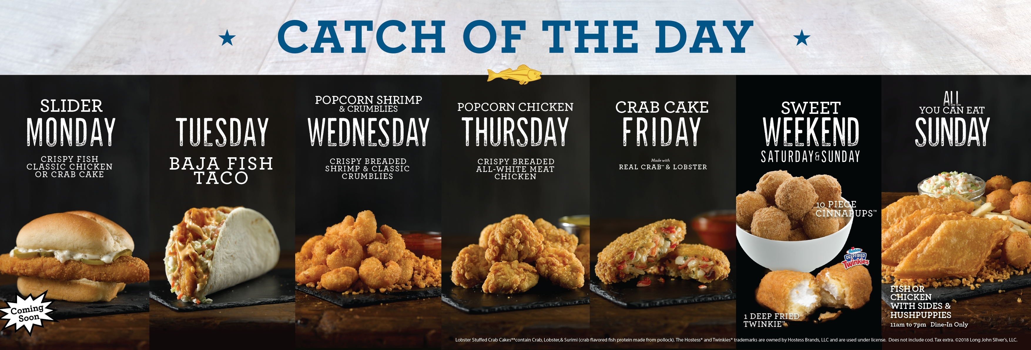Long John Silver S Invites Guests To Catch A Daily 1 Deal