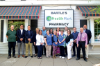Bartle's Pharmacy staff in Oxford, New York, McKesson's Pharmacy of the Year. (Photo: Business Wire)