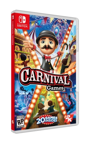 2K today announced Carnival Games®, the next entry in the popular franchise that has sold-in over 9.5 million units worldwide, is coming to Nintendo Switch™ for the first time on November 6, 2018. (Photo: Business Wire)
