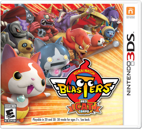 YO-KAI WATCH BLASTERS: Red Cat Corps and YO-KAI WATCH BLASTERS: White Dog Squad launch exclusively for the Nintendo 3DS family of systems on Sept. 7 at a suggested retail price of $39.99 each. (Photo: Business Wire)