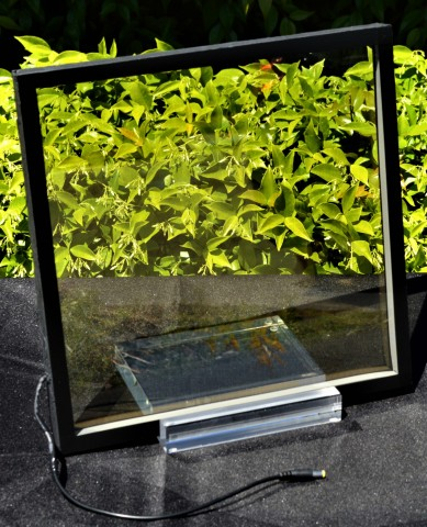 1 Square Foot ClearView Power™ Prototype Window (Photo: Business Wire)