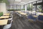 Another view of employee break room in Standard Plaza located in Portland, Ore. (Photo: Business Wire)