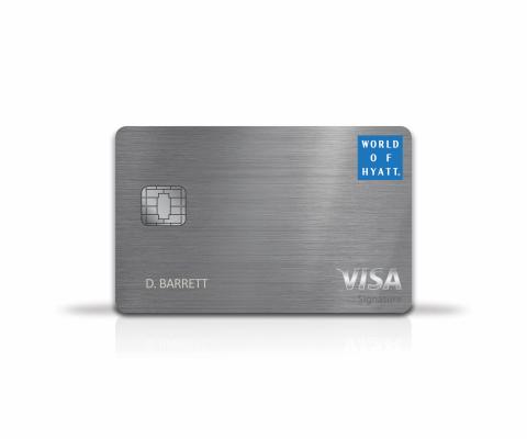 World of Hyatt Credit Card (Photo: Business Wire)