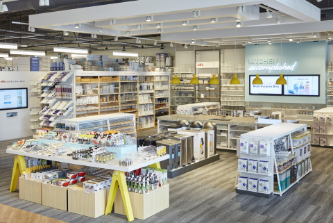 The Container Store Next Generation Store kitchen department.