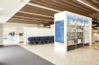 The Container Store Next Generation Store entrance. (Photo: Business Wire)