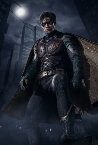 "The first full view of Robin from upcoming DC UNIVERSE original series, ""Titans."" (Photo: Business Wire)"