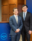 """""""Taming the Factor Zoo"""" authors Stefano Giglio and Dacheng Xiu, 2018 AQR Insight Award Winners (Photo: Business Wire)"""