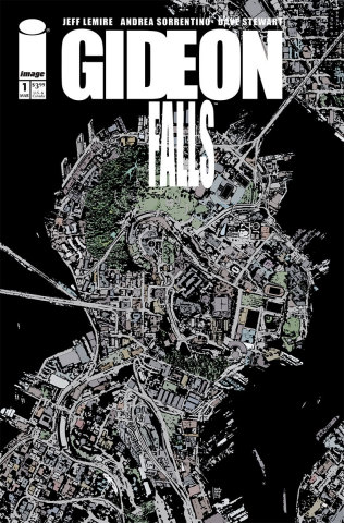 GIDEON FALLS, the hit comic series from New York Times best-selling writer Jeff Lemire and illustrator Andrea Sorrentino, will soon be coming to television in partnership with Hivemind, who have won a multi-studio bidding war for rights to the property. (Credit: Art by Andrea Sorrentino)