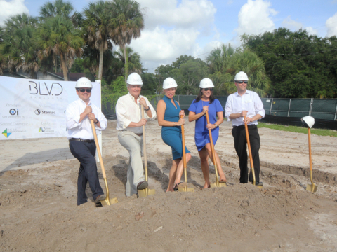 BLVD Sarasota Groundbreaking - Core Development Team. (Photo: Business Wire)
