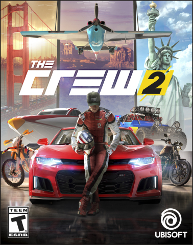 Ubisoft's The Crew 2 available now on PlayStation 4, Xbox One, Xbox One X and Windows PC. (Graphic: Business Wire)