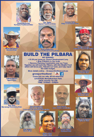 """Build the Pilbara"" information flyer (Graphic: Business Wire)"