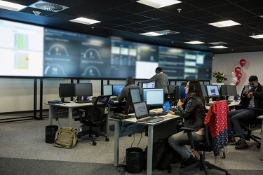 Newly inaugurated LTI Global Delivery Center in Johannesburg (Photo: Business Wire)