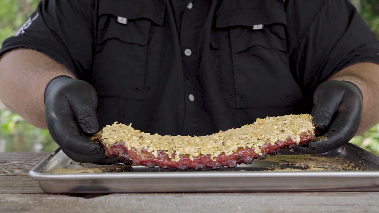 Sonny's BBQ 24K Gold Ribs Ingredients Video