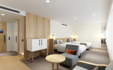 New Luxury Type Universal Design Room (47.0sqm) will be added to increase the flexibility of accommodation options for our guests. (Photo: Business Wire)