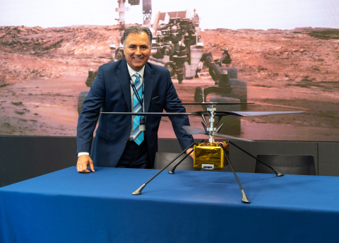 AeroVironment Collaborating with NASA's JPL to build 1st drone, the Mars Helicopter (Photo: Business Wire)