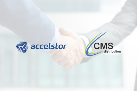 AccelStor partners with CMS Distribution (Graphic: Business Wire)