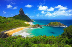 NEC Energy Solutions is supplying the Neoenergia Group with NEC's DSS® distributed storage solution for use on the Fernando de Noronha archipelago off the coast of Brazil. The system will be used in an R&D project to assist demand charge management and firming of the island's solar power generation. It will also assist in diesel fuel reduction to help preserve the archipelago's natural environment. (Photo: Business Wire)