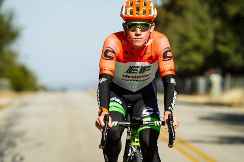 Lawson Craddock wearing his WHOOP Strap 2.0 (Photo: Business Wire)