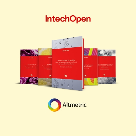 IntechOpen implements Altmetric Badges for books to highlight online attention for Open Research (Photo: Business Wire)