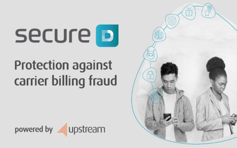 Upstream's carrier grade platform Secure-D (Graphic: Business Wire)