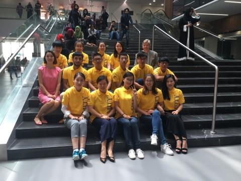 Chinese students at Dubai International Academic City. (Photo: AETOSWire)