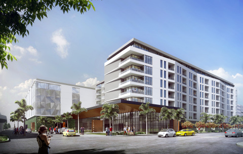 Trammell Crow Residential is partnering with AvalonBay Communities to develop an eight-story, 350-unit community in Doral, an upscale suburb of Miami. (Photo: Business Wire)