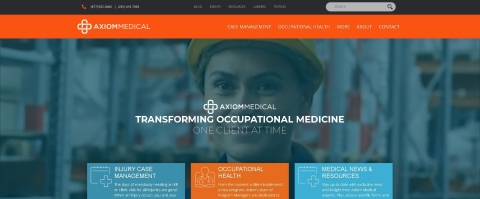 Axiom Medical Launches a New and Innovative Website (Photo: Business Wire)