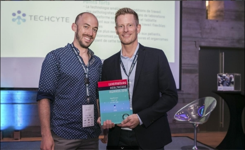 Techcyte Europe receives 2018 Healthcare Startup of the Year award (Photo: Business Wire)