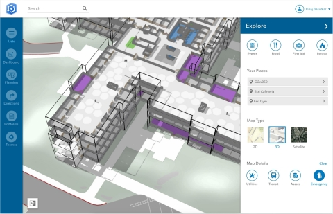 Esri announces a new indoor mapping product called ArcGIS Indoors. (Graphic: Business Wire)
