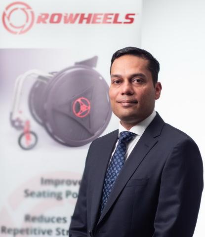 Gaurav Mishra CEO at Rowheels (Photo: Business Wire)